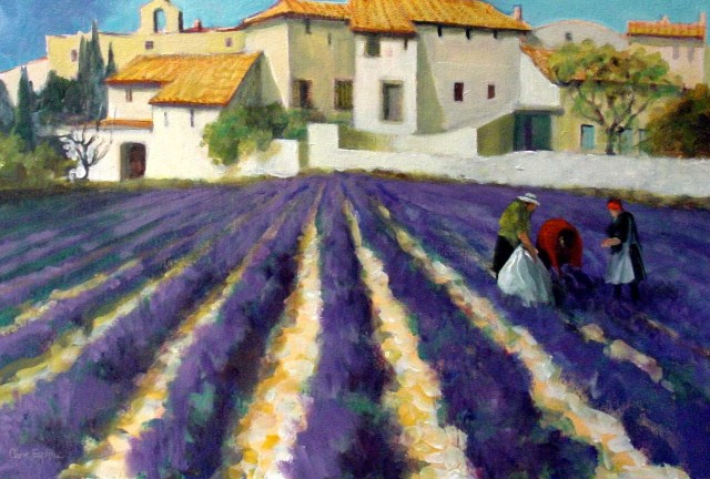 """Lavender Fields of Provence"""